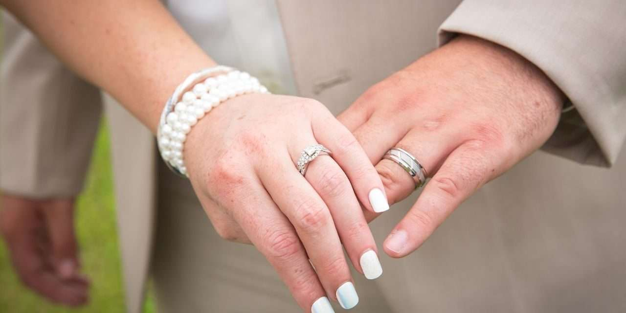 The Wearing Of Mens Wedding Rings Today