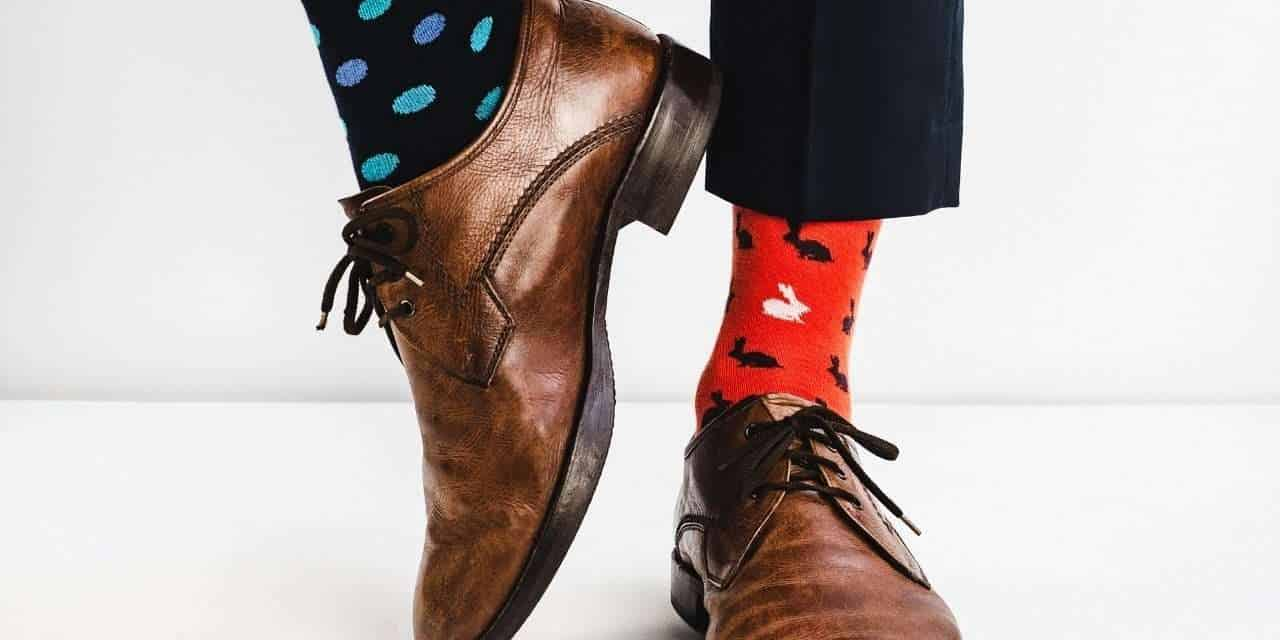 Growing up, I was kind of indifferent to the matter of socks