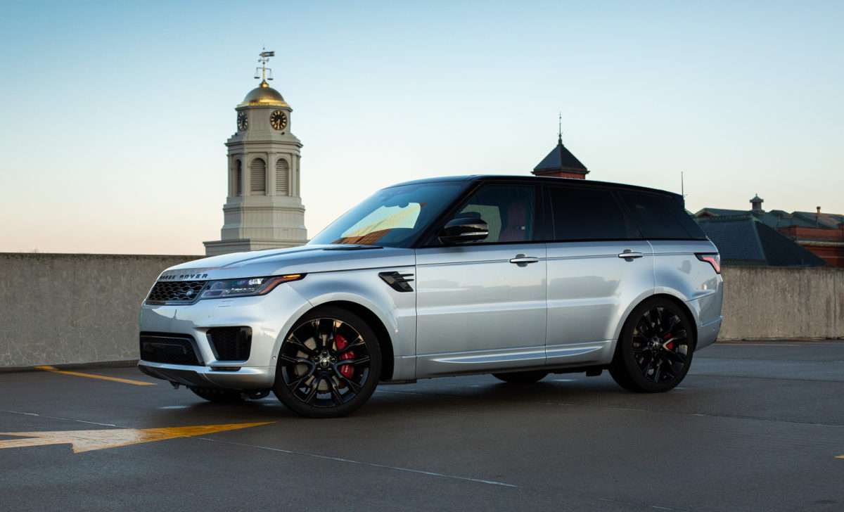 The Range Rover Sport HST Hits the Sweet Spot