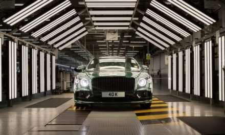 Bentley Celebrates 40,000 Flying Spurs