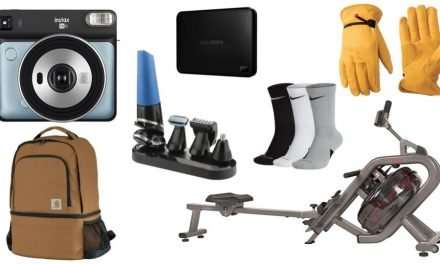 Daily Deals: Instant Cameras, Work Gloves, Portable Hard Drives, Rowing Machine, Carhartt Sale And More!