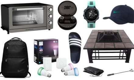 Daily Deals: Fire Pit Sets, Toaster Ovens, Ambience Lighting, Nike Sale And More!