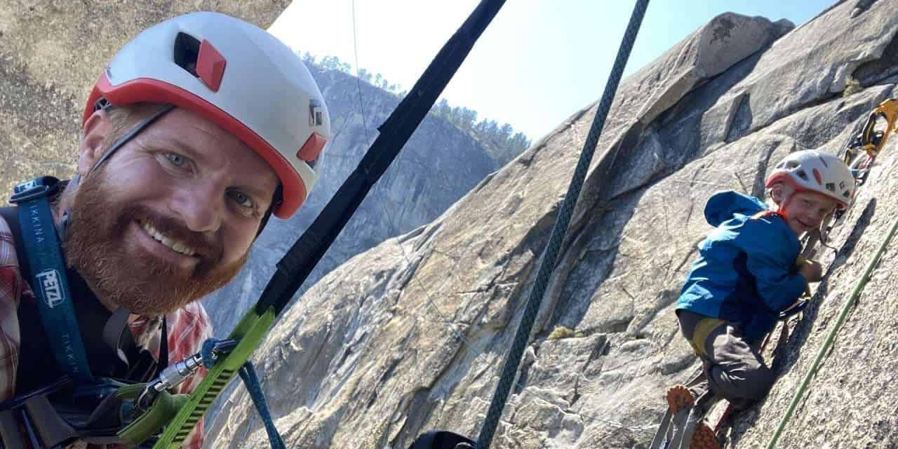 6-Year-Old Climber Completes Yosemite Classic