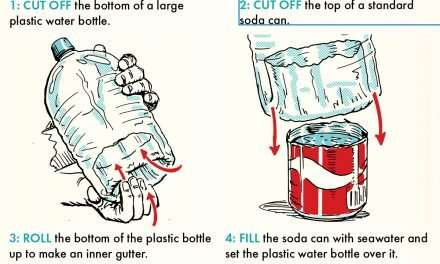 How to Use a Plastic Bottle to Make Seawater Drinkable
