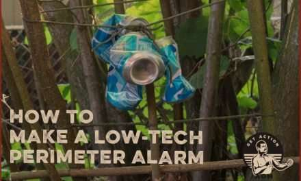 How to Make a Low-Tech Perimeter Alarm