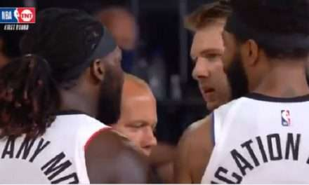 Montrezl Harrell Appears To Yell 'P-ssy Ass White Boy' At Luka Doncic During Game 3 Of Clippers-Mavericks Playoff Series