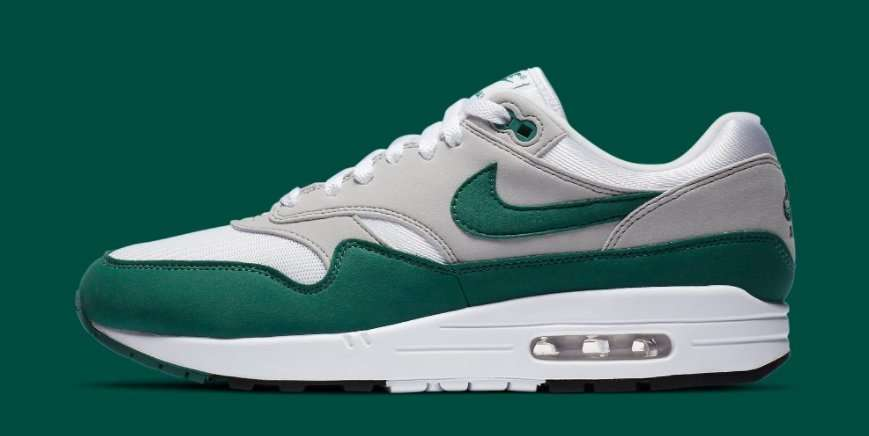 Nike Air Max 1 'Evergreen Aura' Set To Release Later This Month