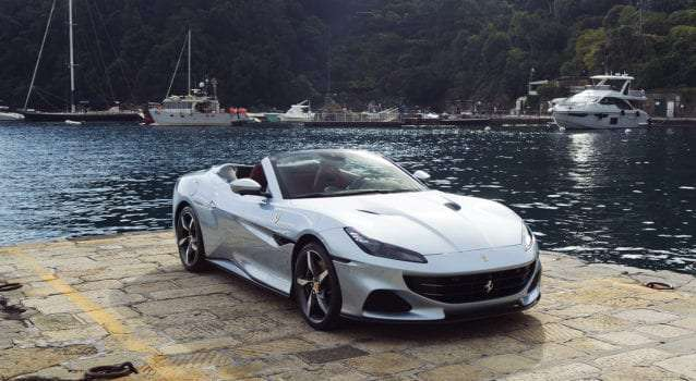 See the Ferrari Portofino M Race Through the Italian Riviera