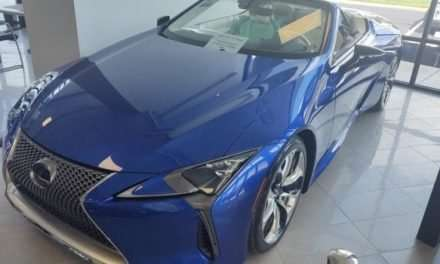 Very Rare 2021 Lexus LC 500 Convertible Inspiration Series for Sale
