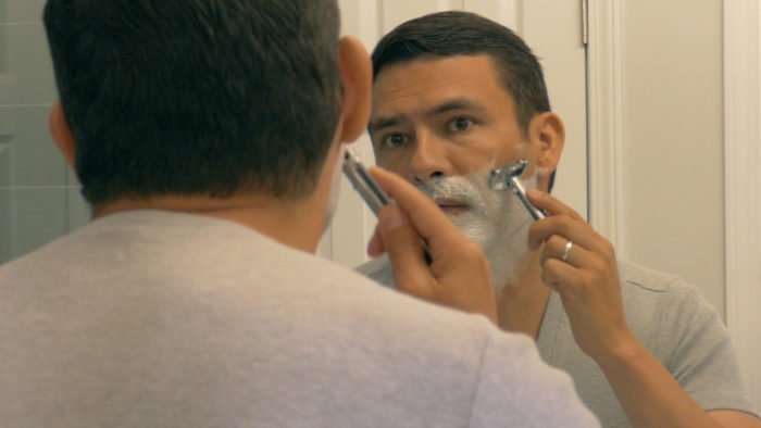 mens style hack shaving