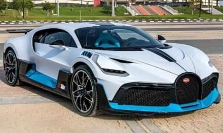 First 2021 Bugatti Divo Delivered In Qatar