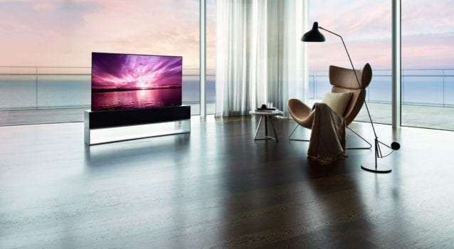 LG's New Rollable 65-inch OLED TV Costs $87,000