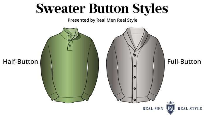 sweater button styles