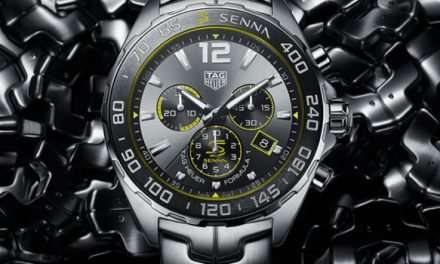 TAG Heuer Releases Ayrton Senna Special Edition Formula 1 Chronograph
