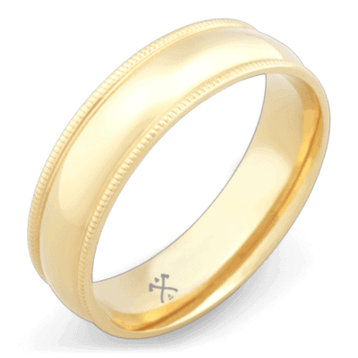 mens ring yellow gold