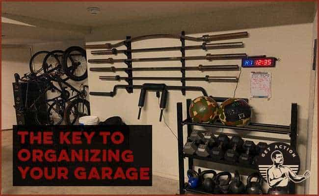 The Biggest Key to Organizing Your Garage