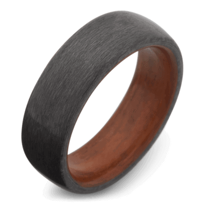 best mens rings wood
