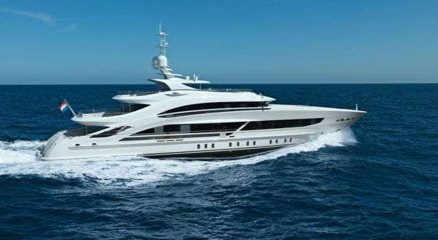 Denison Yachting Sells Stunning 50-meter Project TRITON