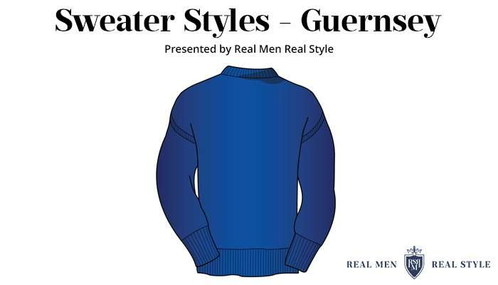 mens sweaters guernsey
