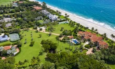 Rare 7.94-Acre Palm Beach Compound Overlooking the Atlantic Ocean