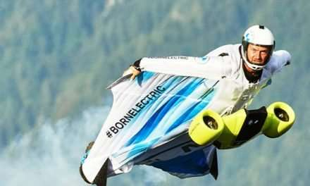 Watch BMW Take To The Sky With An All New Electrified Wingsuit