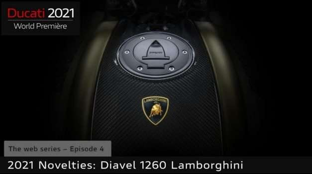 New Ducati Diavel 1260 Lamborghini Motorcycle Teased