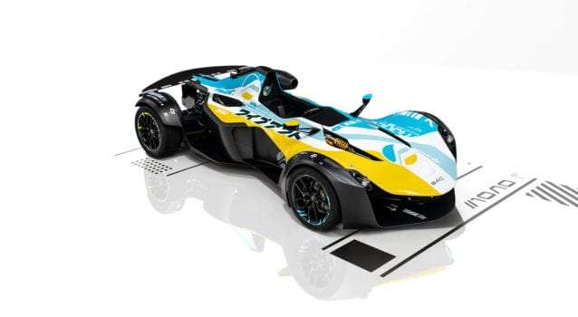 First BAC Mono R Delivered In WipEout Livery