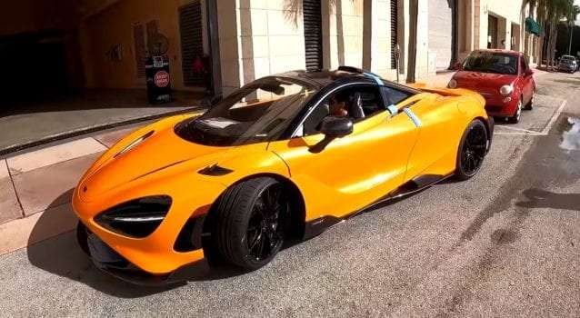 2021 McLaren 765LT Delivered To The Collection By DragTimes