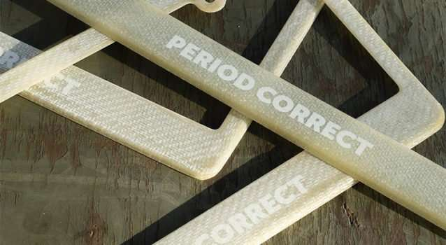 How To Buy The Period Correct Fiberglass Plate Frame
