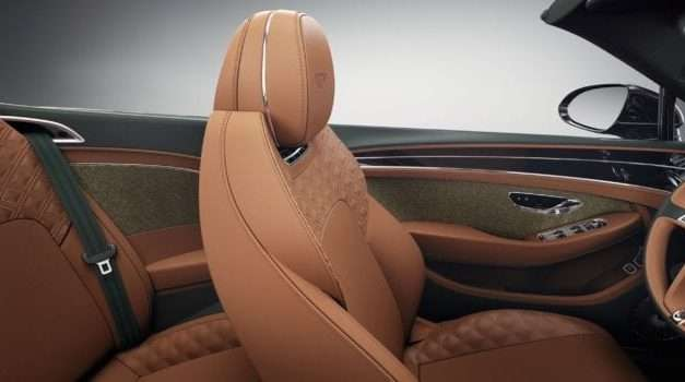 2021 Bentley Lineup Gains Tweed Interior Options