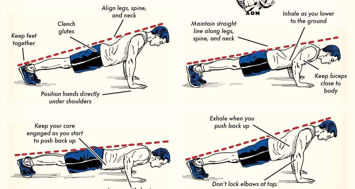 How to Do a Perfect Push-Up