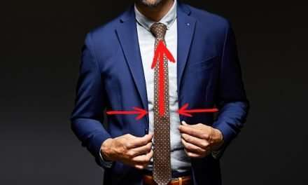 How to Tie a Tie – Half Windsor Knot – 8 Easy Steps
