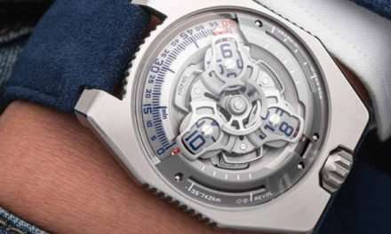 The New Urwerk UR-100 Spacetime Watch Is Out Of This World