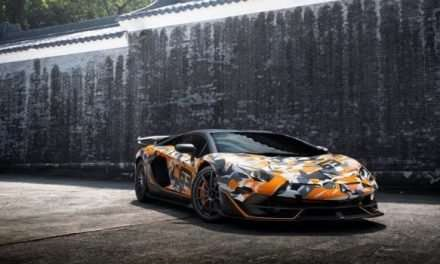One-of-One Camoflauge Lamborghini Aventador SVJ 63 Lands in Hong Kong