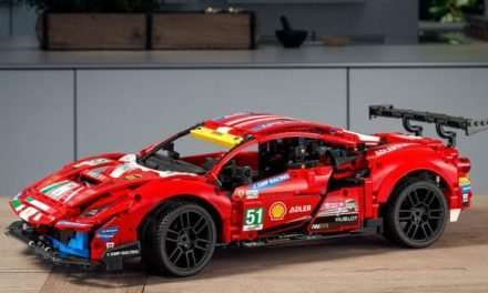 Ferrari 488 GTE LEGO Technic Set Announced