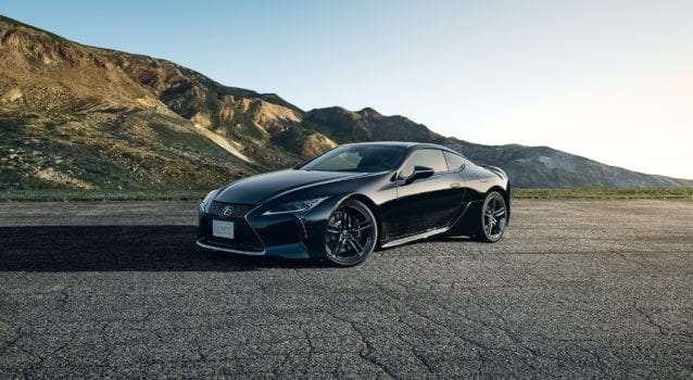 """New Lexus LC 500 """"Aviation"""" Edition Launches in Japan"""