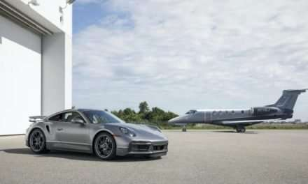 Special Edition Embraer Private Jet Comes With Matching Porsche 911 Turbo S