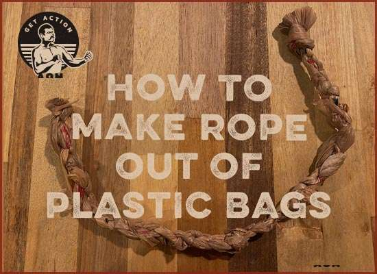 How to Make a Rope Out of Plastic Bags