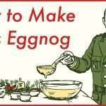 General Eisenhower's 5-Star Holiday Eggnog