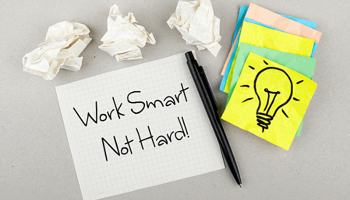 work smart - how to succeed in business