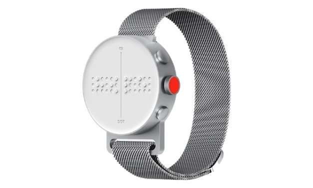 The Braille Watch (A Smartwatch For Blind People And The Visually Impaired)