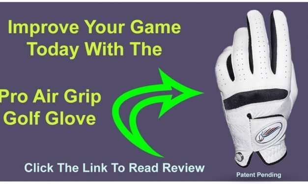 AN AMAZING GOLF GLOVE THAT WILL IMPROVE YOUR SWING