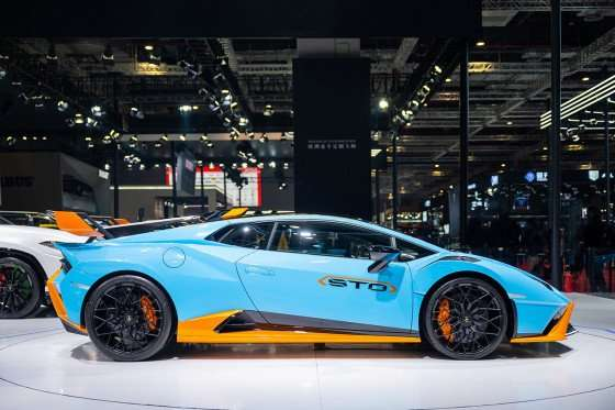 Lamborghini at the 2021 Shanghai Auto Show