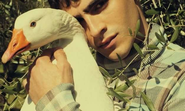 Jhonattan Burjack Sports Dior Men for ICON Italy