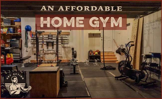 Posture about home gym displayed by Art of Manliness.