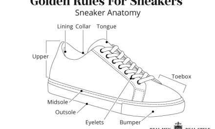 Five Golden Rules For Looking Smart In Sneakers | Types Of Sneakers For Guys