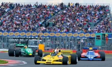 Murray Walker Honoured at  Silverstone Classic