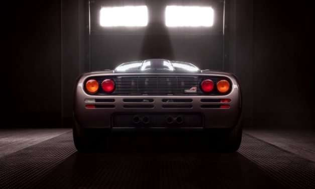 Finest and Best Preserved McLaren F1 on Offer at Pebble Beach Auction