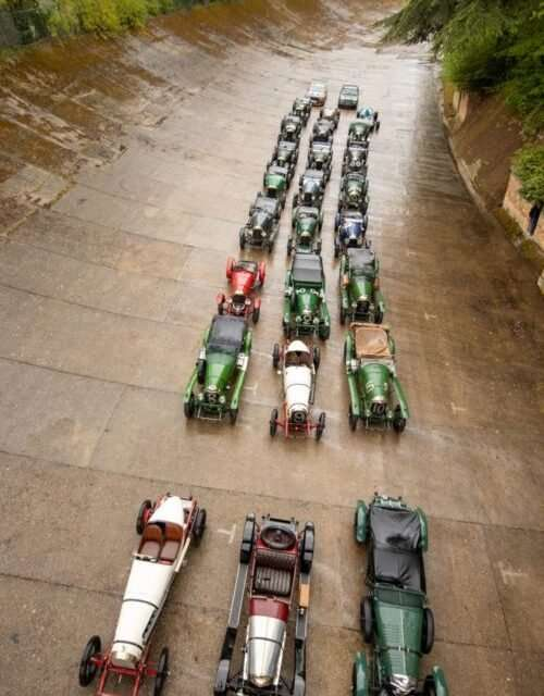 Bentley Celebrates 100 Year Anniversary of First Win
