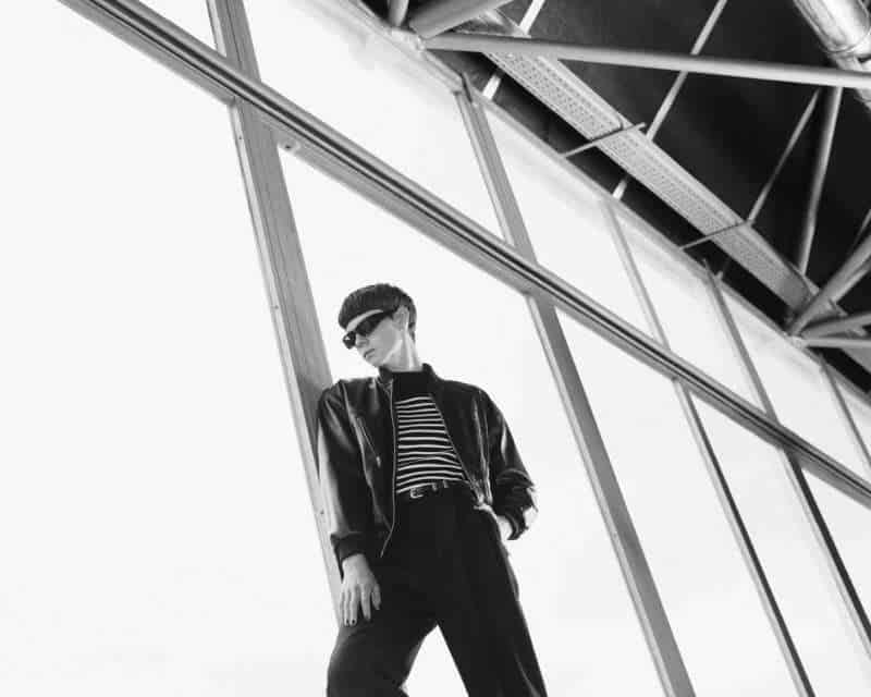 Isaac Lane Embraces Cool Black Style for Celine Campaign